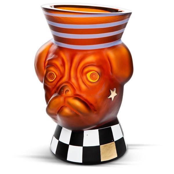 """ANIMALIA """"MAJOR BUD"""" - Vase - Borowski   China"""