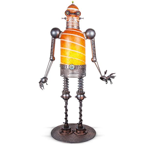 MECHANICAL DUDE - lighting sculpture by SJB