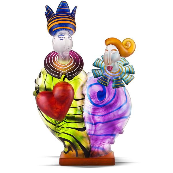 KING & QUEEN - Object by SJB - Borowski | China