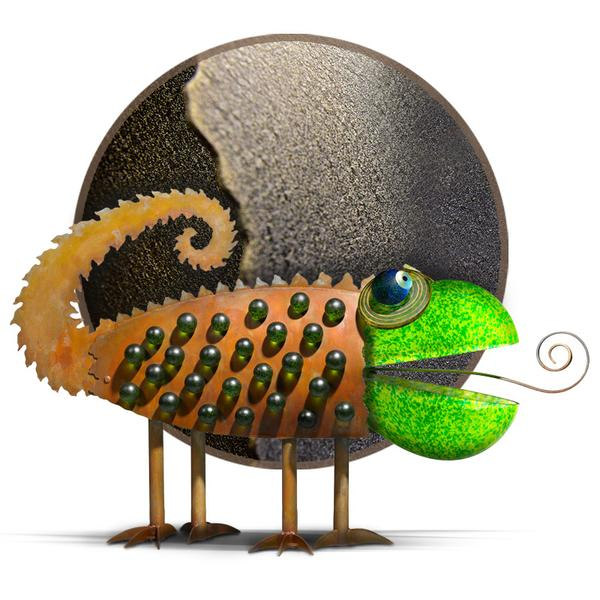 CHAMELEON - Outdoor object, coated - Borowski | China