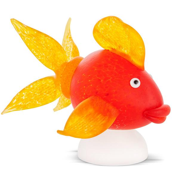 GOLDFISH QUEEN - Object, red - Borowski | China