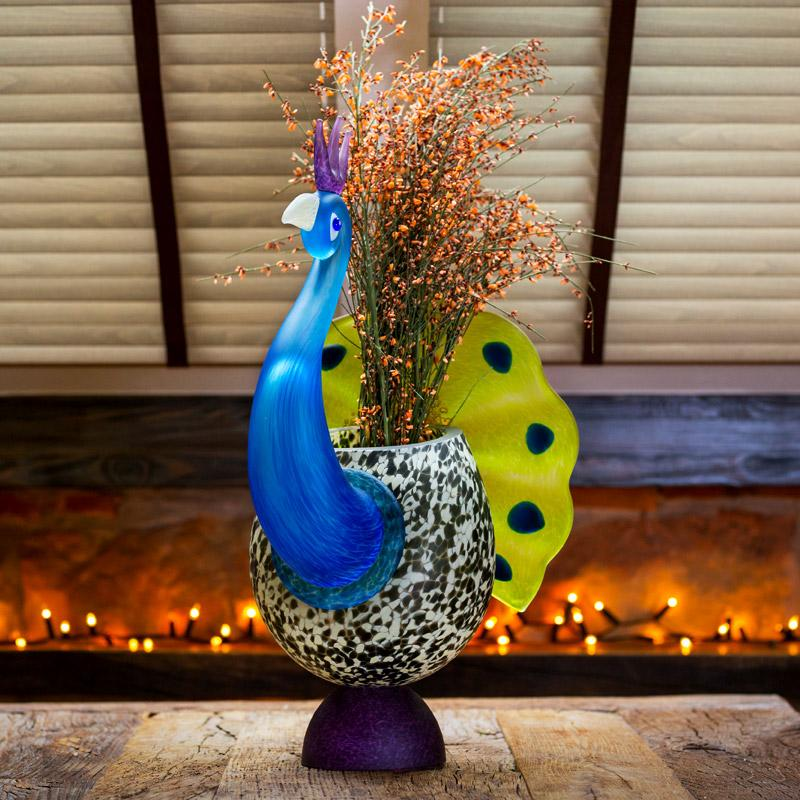 PEACOCK - Vase - Borowski | China